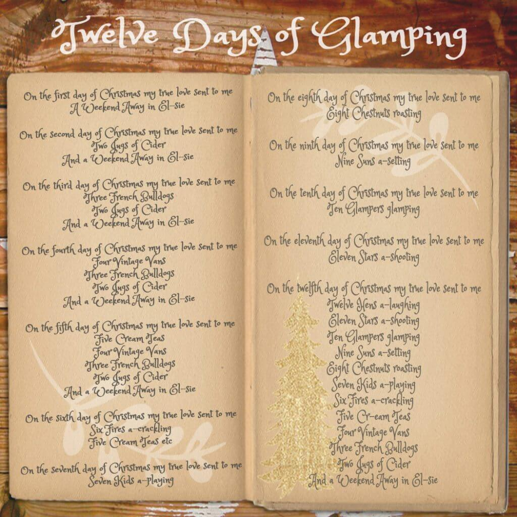 Twelve Days of Glamping