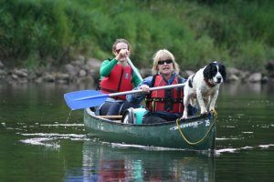 Hen Party ideas at Mad Dogs - Canoeing