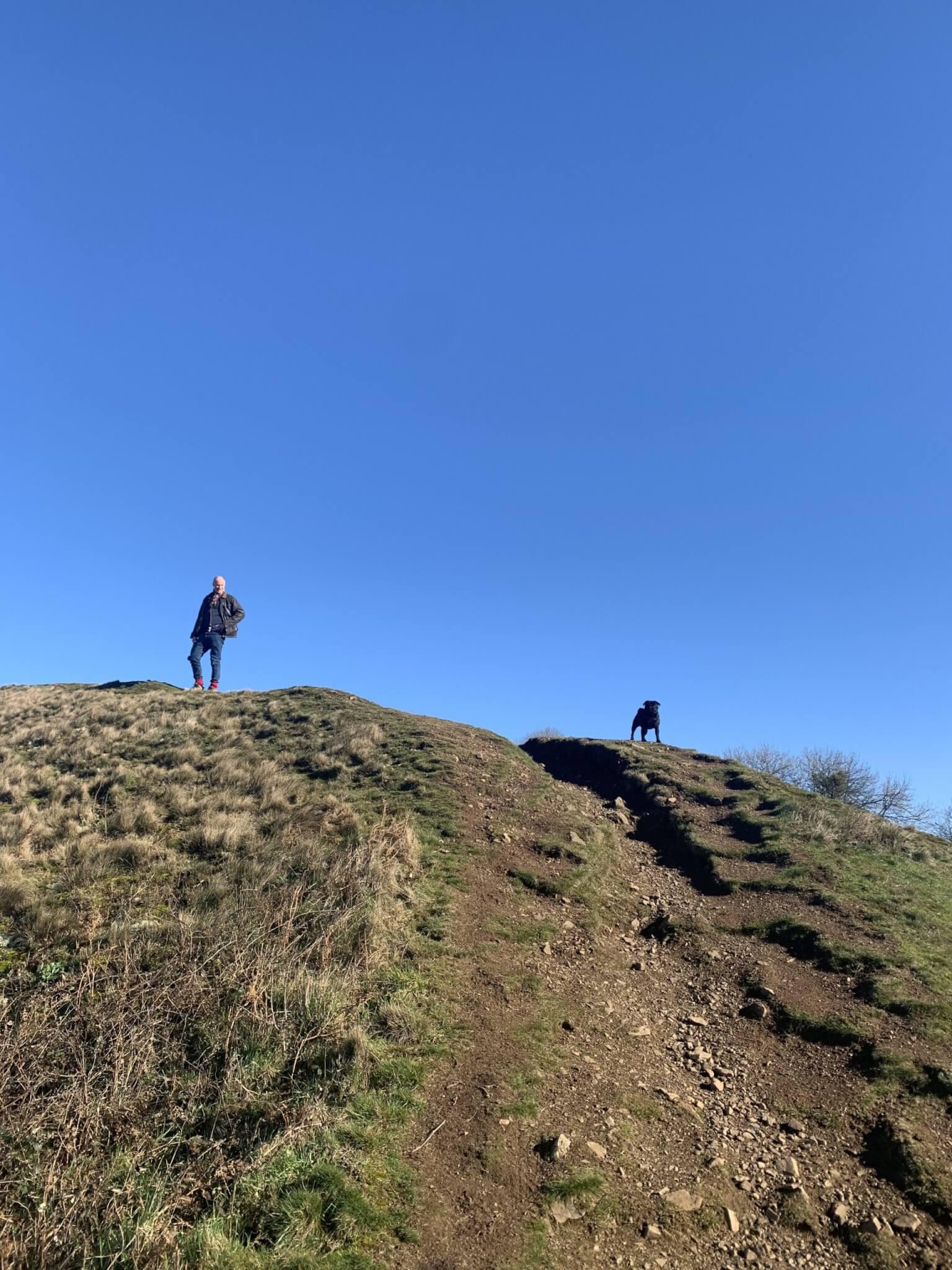 Climbing up to Midsummer Hill