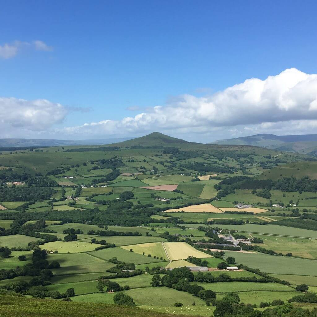 The view to Sugar Loaf